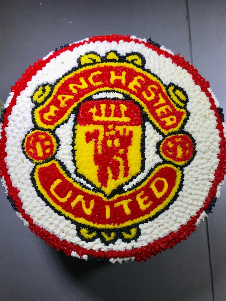 Manchester United Cake Logo