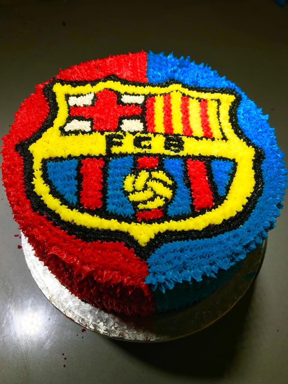Barcelona Fc Custom Cake Walnut Grove Sandton